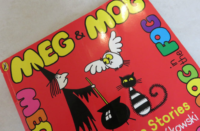 our favourite Halloween story Meg and Mog